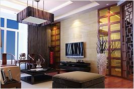 中式经典客厅设计
