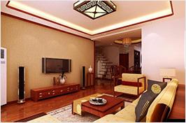 红木客厅中式设计